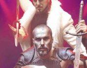 《指环》音乐剧排练主角在剧院大厅上演打戏