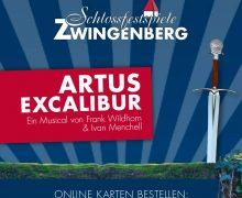 资讯|茨温根贝格城堡剧场公布《亚瑟:王者之剑》卡司,德奥音乐剧黄金搭档再聚首
