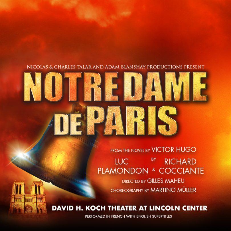 资讯 | 音乐剧《巴黎圣母院》将首次在纽约上演